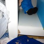 Bookcase Damage Repair