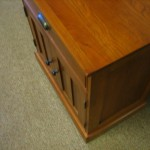 After Wood Nightstand Repair Work
