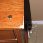 Wood Nighstand Repair