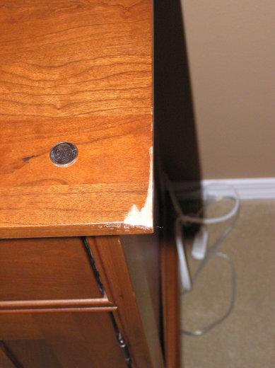 Wood Nighstand Repair