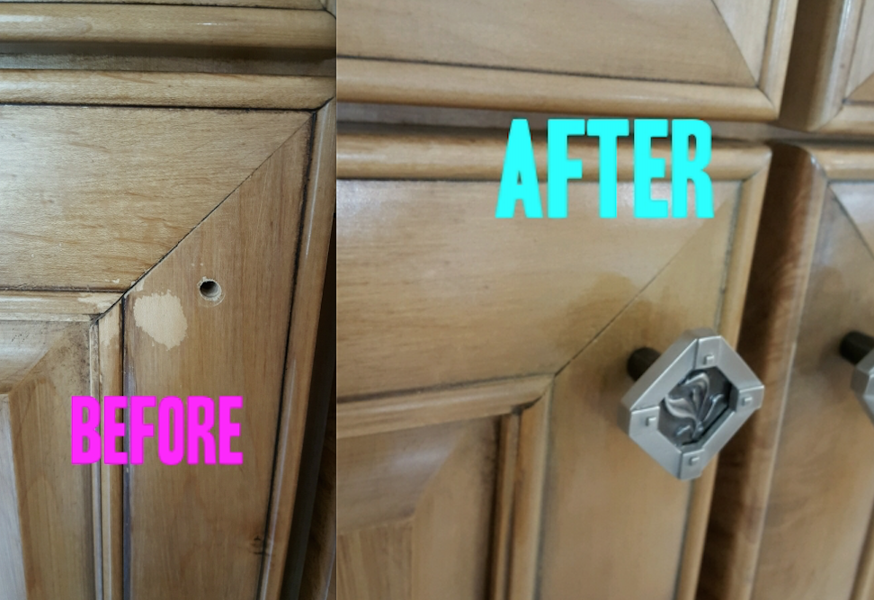 Before After - Furniture Refinishing