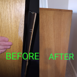 Before - After: Wooden Cabinet