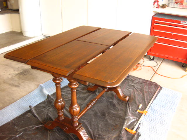 Antique Table Refinished