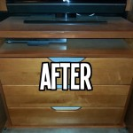 After Wood Dresser Refinish