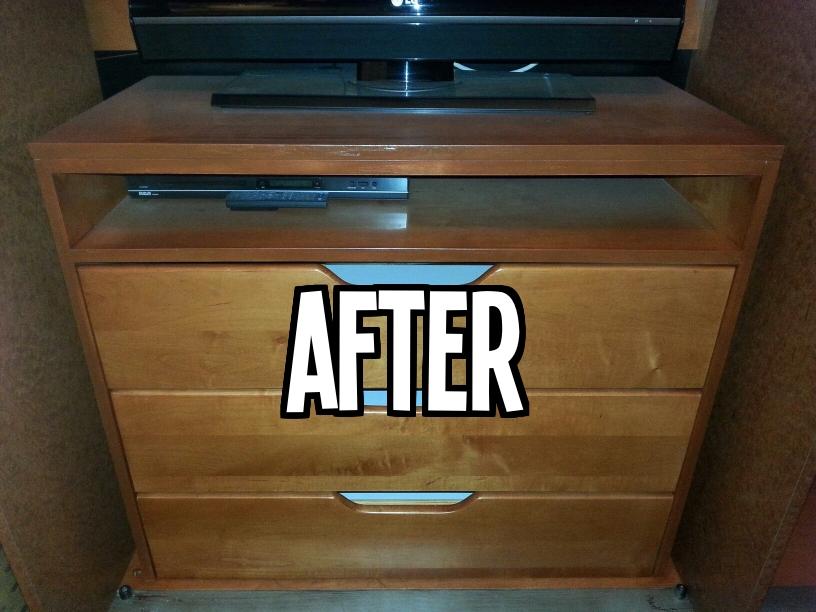 After Wood Dresser Refinish